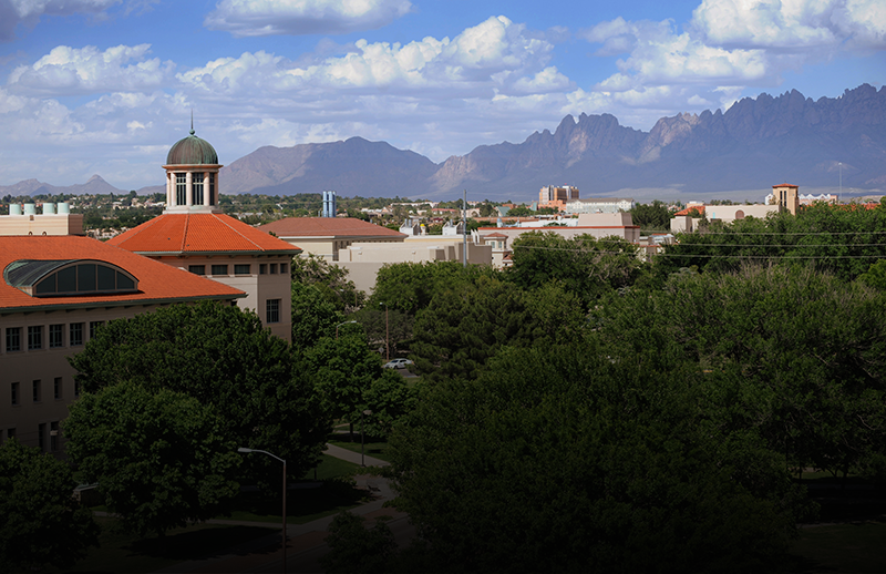 View of New Mexico State University Skeen Hall
